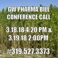 GW Pharma Bill - Colorado