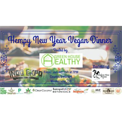 Hempy New Years Vegan Dinner