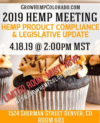 Hemp Food Compliance Meeting