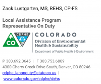 Colorado Hemp in Food & Commercial Kitchens- CDPHE